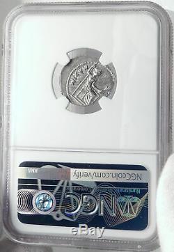 TIBERIUS 36AD Silver BIBLICAL Roman Coin Jesus Christ RENDER CAESAR NGC i82350