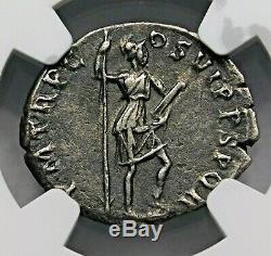 Trajan. Outstanding Denarius circa 103-111 AD. Ancient Roman Silver Coin