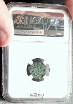 VALERIUS GRATUS Roman Jerusalem Prefect TIBERIUS LIVIA Biblical Coin NGC i68138