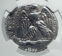 VESPASIAN Original Ancient 69AD Antioch Silver Tetradrachm Roman Coin NGC i81699
