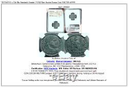 VETRANIO w Chi-Rho Standards Genuine 350AD Rare Ancient Roman Coin NGC MS i65990