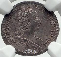 1747 Autriche Saint-empire Romain Maria Theresa Argent Autrichienne Pièce De Monnaie Ngc Ms I82376