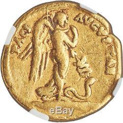 41-42 Ad Rare Or Ancien Empire Romain Coin De Claude Aureus Ngc Ch Fin
