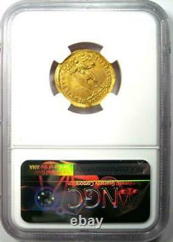 Ad 364 375 Western Roman Empire Valentinian I Av Pièce En Or Solidus Ngc Ms