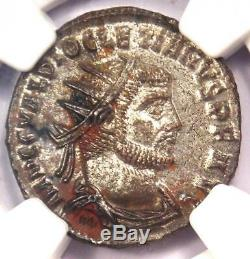 Ancien Romain Dioclétien Bi Aurelianianus Jupiter Coin 284-305 Ad Ngc Ms (unc)