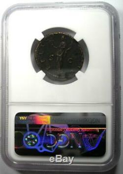 Ancien Romain Hadrien Ae En Tant Que Monnaie 117-138 Certifié Ngc Xf (ef)