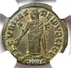 Ancienne Romaine Helena Bi Nummus Ae3 Coin (324-328 Ad) Certifié Ngc Ms (unc)