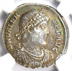 Ancient East Roman Valens Ar Siliqua Coin 364-378 Ad Certifié Ngc Choice Vf