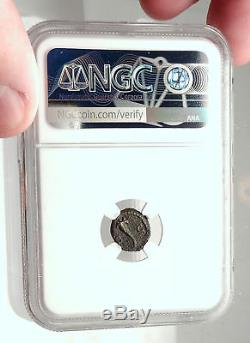 Anonyme 81-196ad Rome Quadrans Coin Romain Authentique Mars Cornucopia Ngc I72906