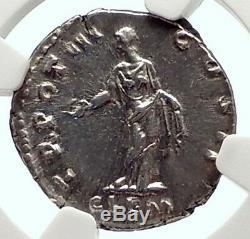 Aurelius Comme Roman Marcus Argent Antique Caesar Rome Denier Monnaie Ngc I71725