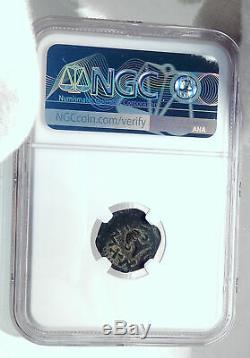 Authentique Guerre Antique Juif Vs Romans 67ad Historique Jerusalem Coin Ngc I81526