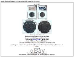 Balbin Pupienus & Gordien III César Ancienne Aegeae Romaine Monnaie Ngc I81680
