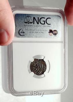Britannicus Nero Antonius Felix Jérusalem Ancien Romain Pièce De Monnaie Claudius Ngc I70833