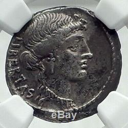 Brutus Jules César Assassin 54bc Argent Antique République Romaine Monnaie I79206