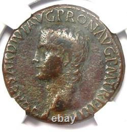 Caligula Romaine Ae Comme Pièce De Cuivre 37-41 Ad Certified Ngc Choice Fine
