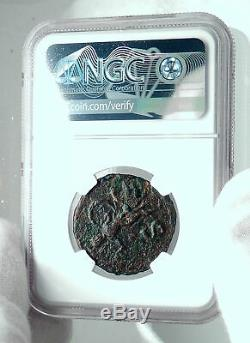 Claudius Authentique Rome Antique Véritable Romaine Originale Coin Minerva Ngc I78432
