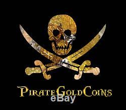Coins Pegasus Pendentif Ancien Pirate Or Bijoux Empire Romain Titus
