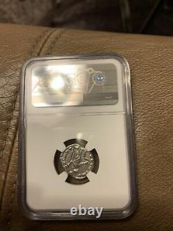 Commodus L'empereur Gladiateur Argent Ancien 177-192ad Rome Roman Coin Ngc