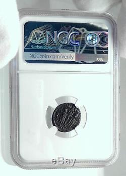Constans Authentic Soldats Anciens W Christian Chrisme Roman Coin Ngc I78523