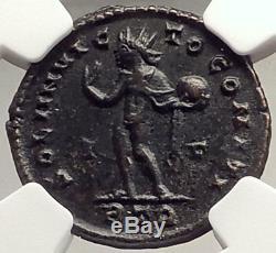 Constantine Le Coin Romain Grande Authentique Ancienne 317ad Trier Sol Ngc I69604