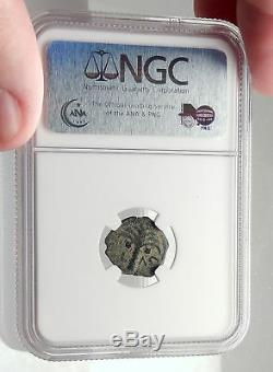Coponius Préfet De Jerusalem Romain Sous Auguste 5ad Biblique Coin Ngc I70913