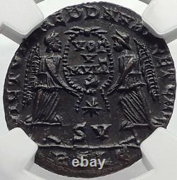 Decentius César 351ad Authentique Ancienne Pièce Authentique Romaine Ngc Ms I70173