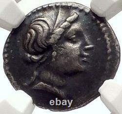 Dictateur Sulla Anonyme 82bc Silver Roman Republic Coin W Venus Ngc I69574