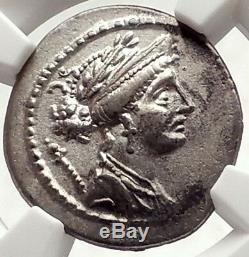 Dictateur Sulla Son Argent République Romaine Monnaie Pour Le Grand Pompée Ngc I69580