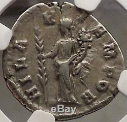 Didia Clara Avril-juin193ad Authentique Pièce De Monnaie Romaine Argent Antique Ngc Xf Ext Rare