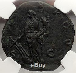 Didius Julianus 193 Ap. Jc Choix Certifié Xf Authentique Monnaie Romaine Antique Rare