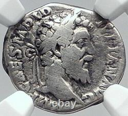 Didius Julianus Very Rare Authentic Ancient 193ad Argent Pièce Romaine Ngc I81822