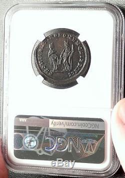 Diocletien Abdication Problème 305ad Ancienne Pièce De Monnaie Romaine De Londres Ngc Au I67623