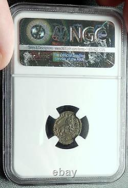 Divus Maximien Sous Constantin I 317ad Monnaie Romaine Antique Lion Ngc Châu I66370
