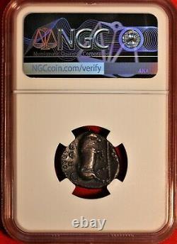 E-coins Australie Lucania, Thourioi. Californie. 350-300 C. B. Ar Stater. Ngc Vf