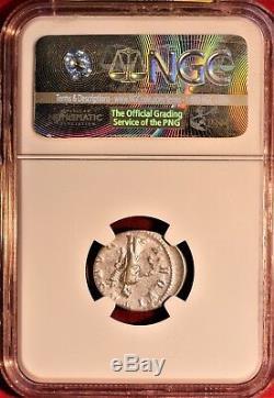 E-coins Australie Severus Alexander Ar Denarius Ngc Xf Pièce Impériale Romaine