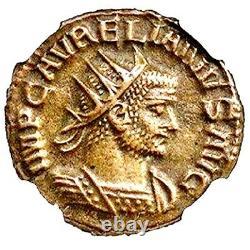 Empereur Romain Aurelian Coin Ngc Certifié Xf, Avec Histoire, Certificat