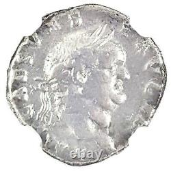 Empereur Romain Vespasien Argent Denarius Coin Ngc Certifié Avec Histoire