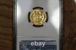 Empereur Theodosius I Gold Av Solidus 379-395 Ad, Ancienne Pièce D'or Romaine, Ngc Au