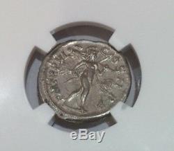 Empire Romain Alexandre Sévère, Ad 222-235 Ar Denarius Coin