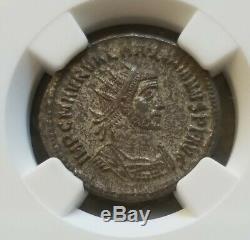 Empire Romain Maximien Aurelianianus Ngc Ms 5/3 Ancienne Pièce De Monnaie