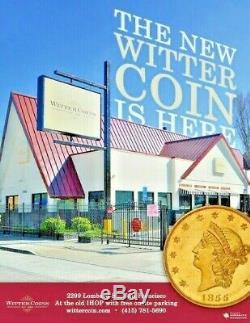 Empire Romain, Néron César Av Aureus Ad 54-68 Ngc Ch F Witter Coin