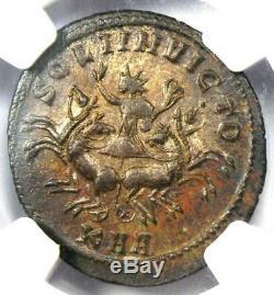 Empire Romain Probus Bi Aurelianianus Coin (276-282 Ad) Certifié Ngc Ms (unc)
