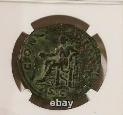 Empire Romain Sabina Sestertius Ngc Choice Fine Ancient Coin