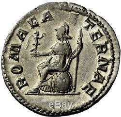 Gordian I Africanus 238ad Très Rare Monnaie Denarius Romaine En Argent Antique Ngc Ch Au