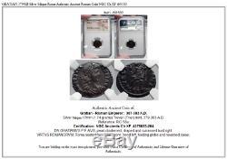 Gratian 379ad Argent Siliqua Roma Authentique Monnaie Romaine Antique Ngc Ch Xf I60180