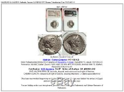 Hadrian & Sabina Authentique Ancien 128ad Égypte Pièce De Tétradrachme Romain Ngc I68144
