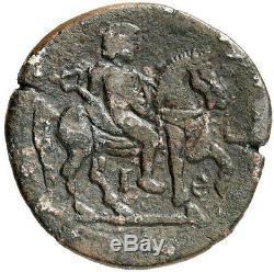 Hadrian's Lover Antinous 134 Ad Ngc Certifié Vf Alexandrie Antique Roman Coin