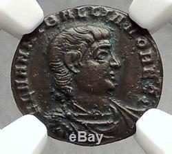 Hanniballianus 335ad Constantin Le Grand Roman Temps Ancienne Pièce De Monnaie Ngc I66637