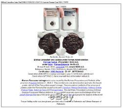 Jérusalem Biblique Saint Paul Nero Porcius Festus Romaine Antique Monnaie Ngc I70955