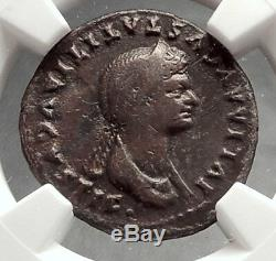 Julia Titi Titus Fille 80ad Ancienne Pièce Argent Roman Venus Ngc Certif I66635